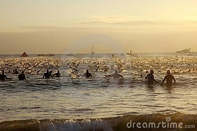 Ironman South Africa 2011 Editorial Stock Photo