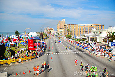 Ironman triathlon Port Elizabeth Editorial Stock Image