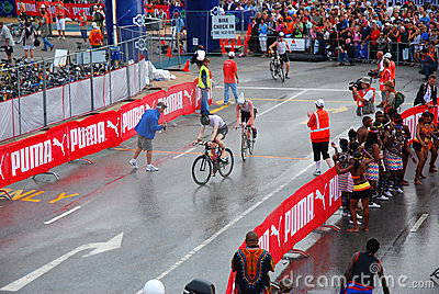 Ironman triathlon South Africa 2008 Editorial Stock Image