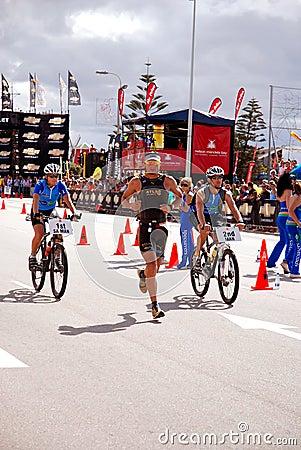 Ironman triathlon South Africa Editorial Stock Photo