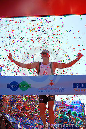 Ironman winner South Africa 2010 Editorial Photo