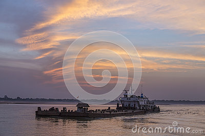 Irrawaddy River - Myanmar (Burma)