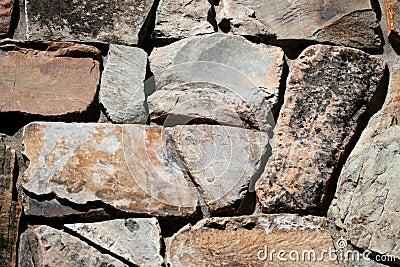 Irregular stonework