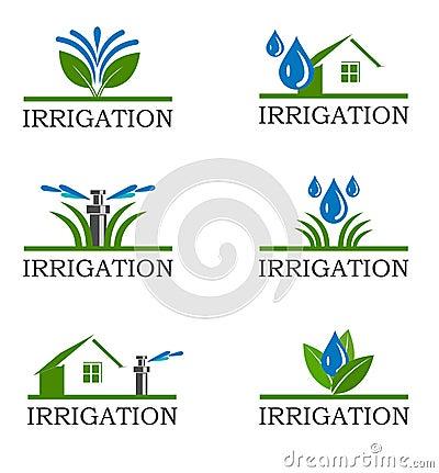 Free Irrigation Icons Royalty Free Stock Image - 36471496