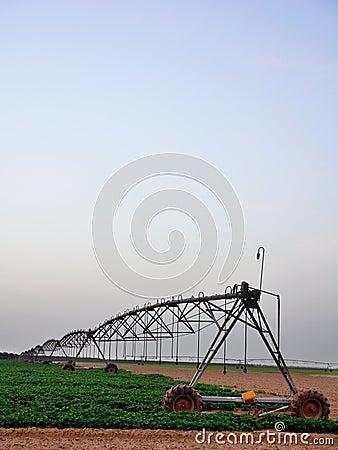 Free Irrigation Machine Royalty Free Stock Images - 13077559