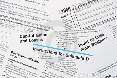 IRS Federal Income Tax Forms
