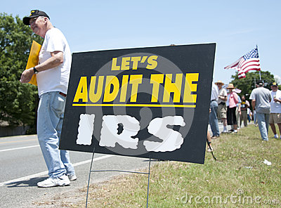 IRS Protest Editorial Photo