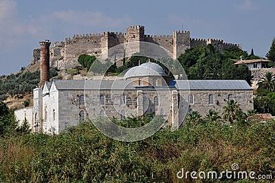 Isa Bey Camii Mosque And Byzantine Citadel Of Ayasoluk ...