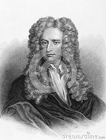 Isaac Newton Image éditorial
