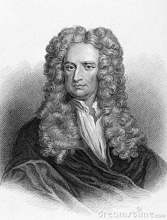 Isaac Newton Redaktionell Foto