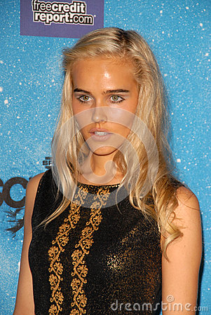 Isabel Lucas Editorial Photo