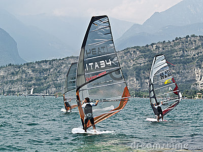 ISAF - Slalom World Championsh Editorial Photo