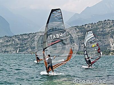 ISAF - Slalom World Championsh Editorial Photo