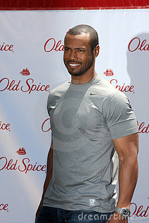 Isaiah Mustafa Editorial Stock Image