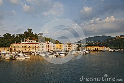 Ischia landscape Editorial Stock Image