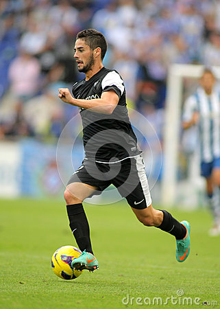 Isco Alarcon of Malaga CF Editorial Stock Photo