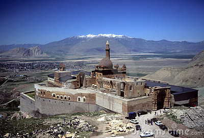 Ishak Pasha Palace, near border of Iran