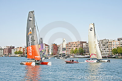 Ishares-cup race in Amsterdam the Netherlands Editorial Photo