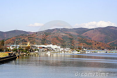 Ishinomaki City in Japan
