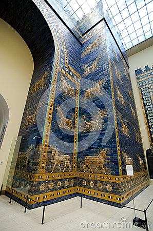Ishtar Gate Editorial Stock Photo