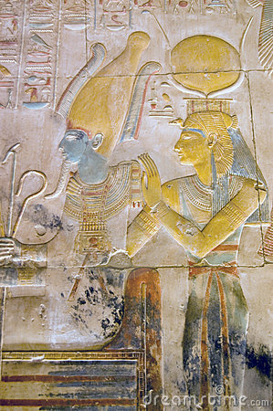 ISIS en gravure Osiris