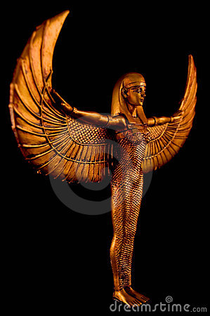 Isis Statue Royalty Free Stock Images - Image: 14837549