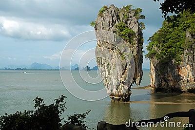 Isla de James Bond (KOH Tapoo), en Tailandia
