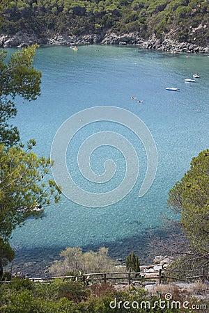 Isla del mar de Elba