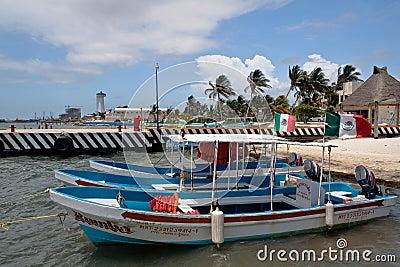 Isla Mujeres Cancun Yucatan Mexico Editorial Photography