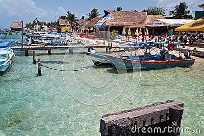 Isla Mujeres Cancun Yucatan Mexico Editorial Stock Photo