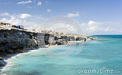 Isla Mujeres Coastline.