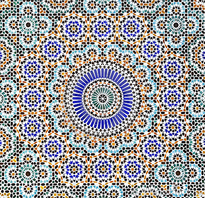 Islam Pattern Texture Background Royalty Free Stock