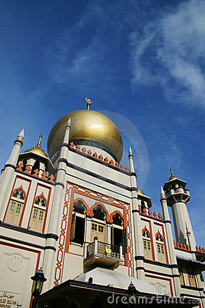 Islami architecture, Sultan Mosque