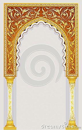 Free Islamic Art Arch Stock Photo - 30370430