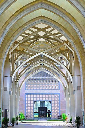 Islamic art and detail architecture Editorial Stock Image