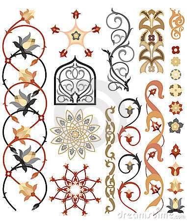 Free Islamic Art Pattern Stock Images - 20352544