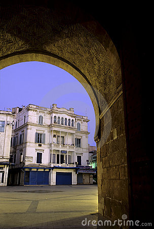 Islamic gate- Tunisia