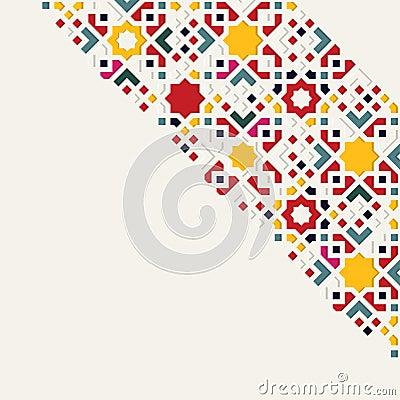 Islamic arabic pattern Vector Illustration
