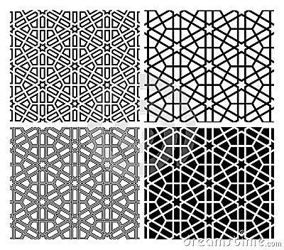 Islamic Mosaic Patterns