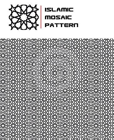 Islamic Mosaic Seamless Pattern