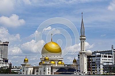 Islamic mosque, Klang, Malaysia Editorial Image