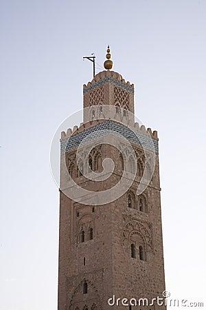 Islamic mosque minaret
