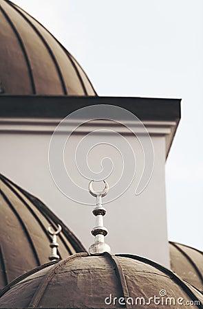 Islamic mosque. Religious architecture