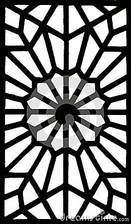 Islamic Geometric Patterns Black And White