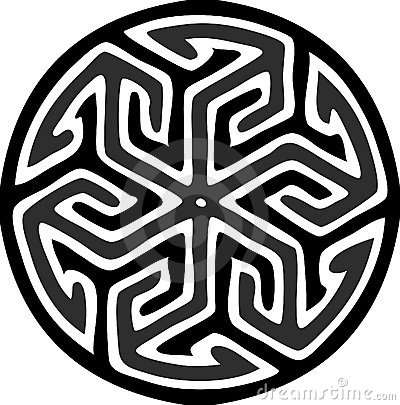Islamic round motif