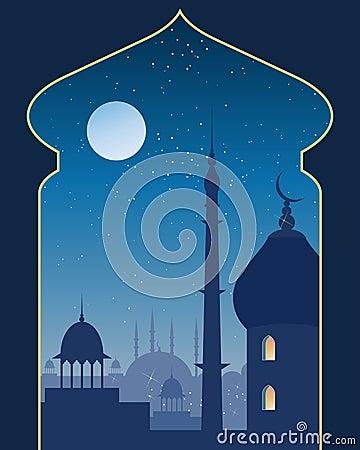 Islamic scene