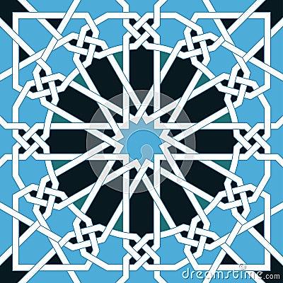Free Islamic Seamless Pattern. Oriental Geometric Ornaments, Traditional Arabic Art. Muslim Mosaic. Mosque Decoration Element Stock Images - 81105264