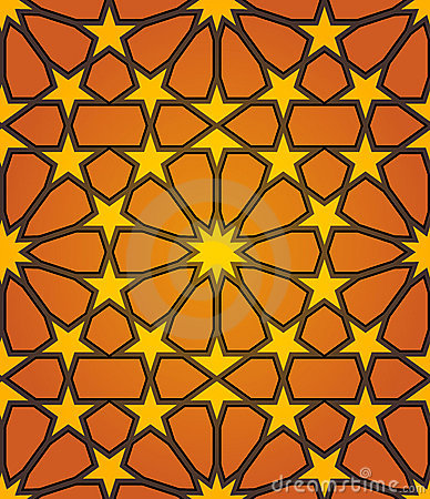 Free Islamic Star Seamless Pattern Stock Images - 19651004