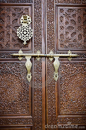 Islamic Style Door Royalty Free Stock Photos Image 7935158