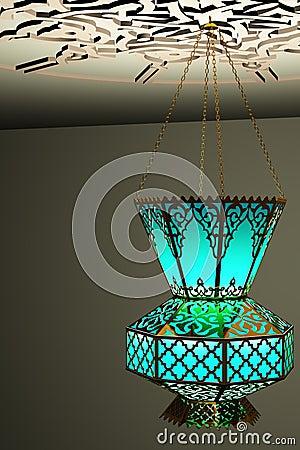 Islamic style lantern